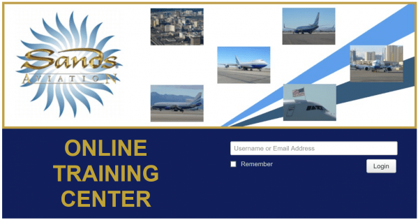 Sands Aviation Online Training Center