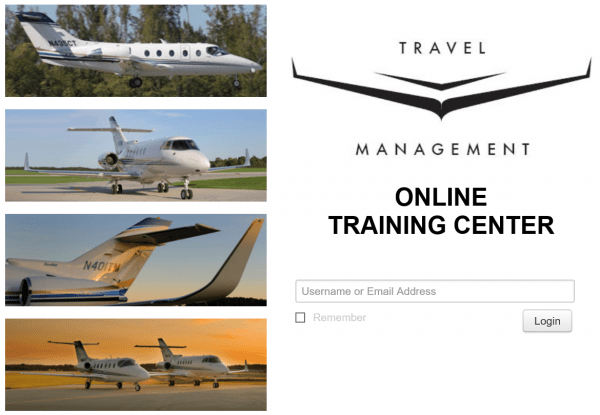 Travel Management Online Training Center